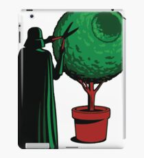Clipping bushes using the dark side iPad Case/Skin