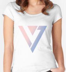 Seventeen - Logo Women's Fitted Scoop T-Shirt