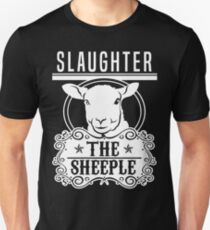 Slaughter The Sheeple - The Power Elite T-Shirt