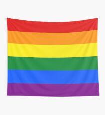 Gay Pride Rainbow Flag Tapestry