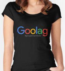 Goolag Manifesto Women's Fitted Scoop T-Shirt