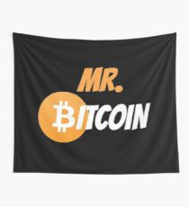 UNIFORM BITCOIN Wall Tapestry