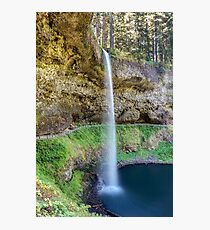 South falls at Silver Falls Photographic Print