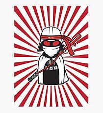 Trust me i' m a Ninja! Photographic Print