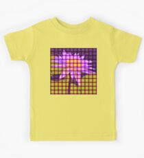 Weave World (water lily) Kids Tee