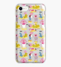 The angry pattern iPhone Case/Skin