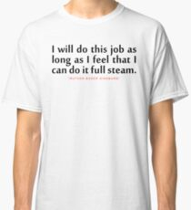 """I will do...""""Ruth Bader Ginsburg"""" Inspirational Quote Classic T-Shirt"""