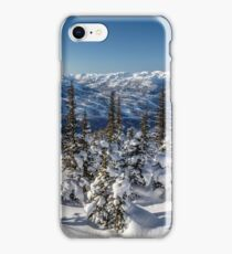 Snowy Whistler Mountain  iPhone Case/Skin