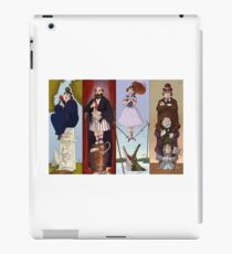 Haunted Mansion Stretch portraits iPad Case/Skin