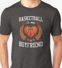Basketball Is My Boyfriend (white) T-Shirt
