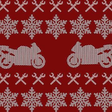 Christmas Biker by PlavaLaguna