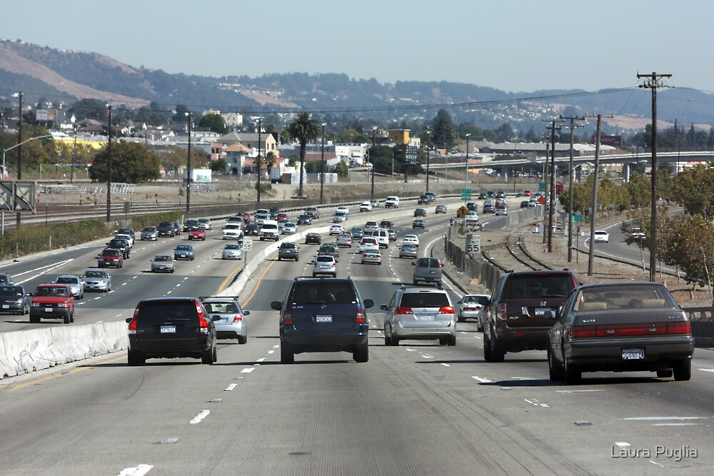 Traffic on Interstate 880 by Laura Puglia