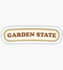 Garden State | Retro Badge Sticker