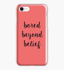 Ruby Redfort Inspired Bored Beyond Belief iPhone Case/Skin
