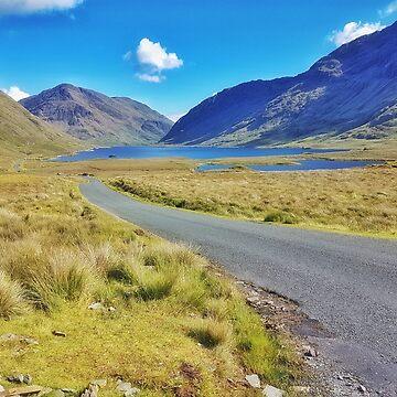 The road past Doonlough  by paulmcnam