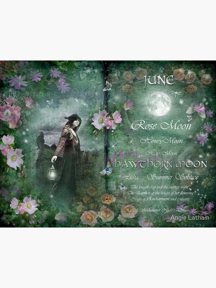 June : Hawthorn Moon by AngelaBarnett