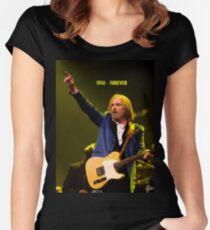 In Memoriam Tom Petty Women's Fitted Scoop T-Shirt