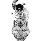 «Bosque Espacial Fox» de Ruta Dumalakaite