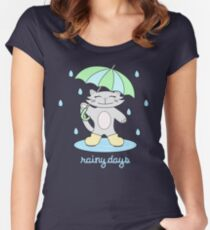 Rainy Days Women's Fitted Scoop T-Shirt