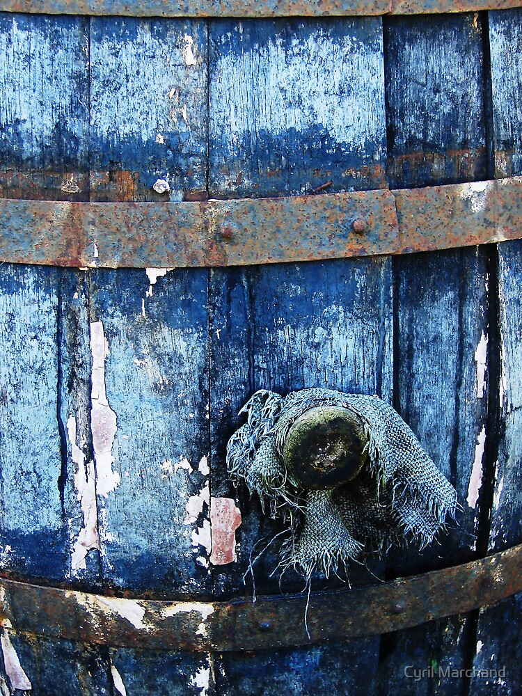 The empty barrel by Cyril Marchand