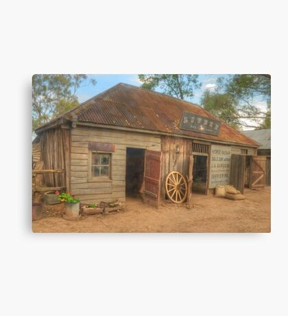 Livery at Wilberforce Pioneer Village Canvas Print