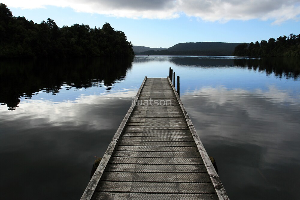 Lake Mapourika, New Zealand by jwatson