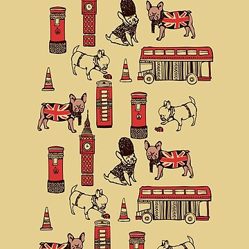 London Frenchies by Huebucket