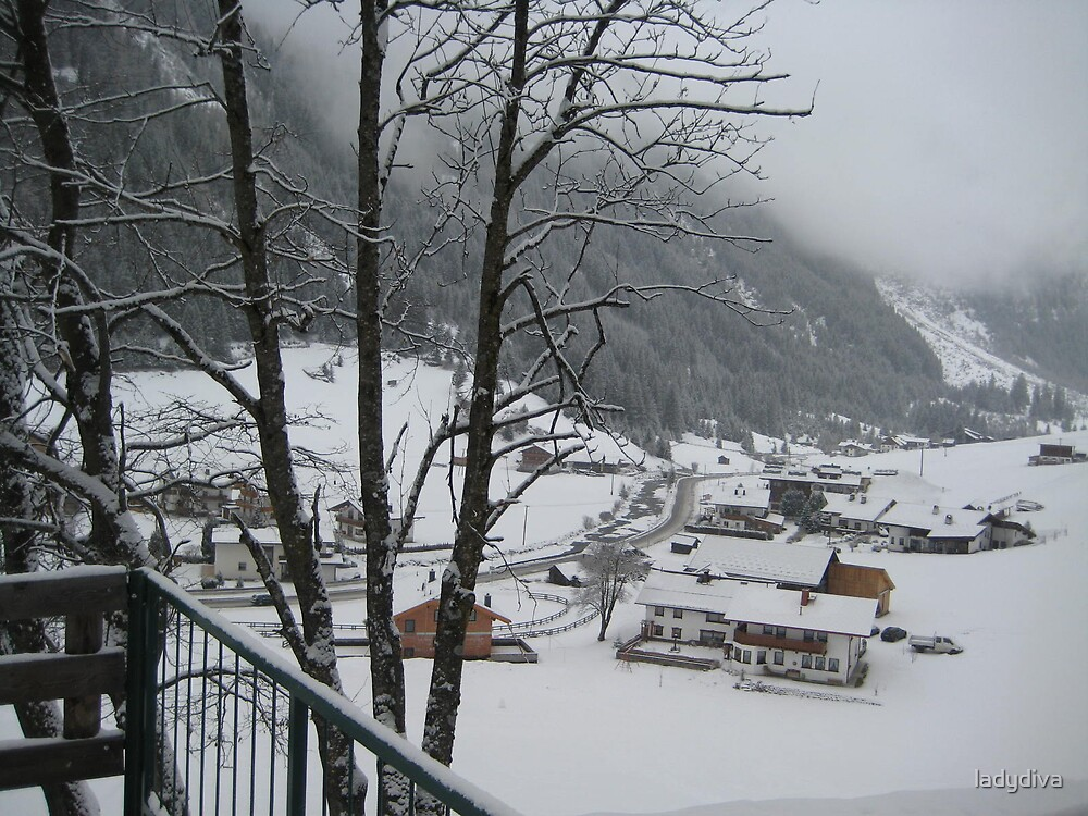 Snow in Austria by ladydiva
