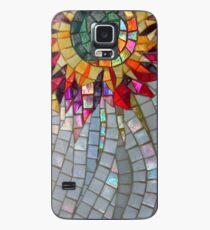Star Flower,  photography of shiny mosaic - JUSTART © Hülle & Klebefolie für Samsung Galaxy