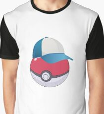 Pokemon hat Graphic T-Shirt