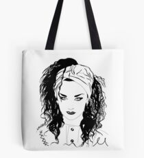 BOY GEORGE (Black & white vers.) Tote Bag