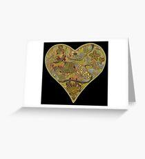 Kingdom Hearts Moon Greeting Card