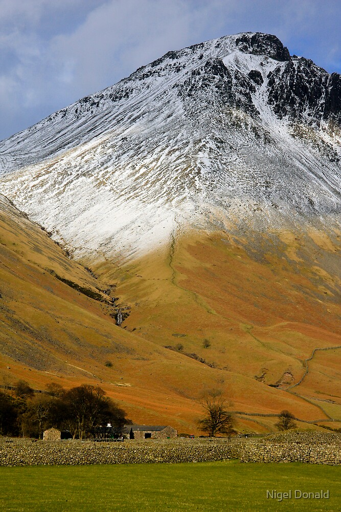 Wasdale Lake District by Nigel Donald