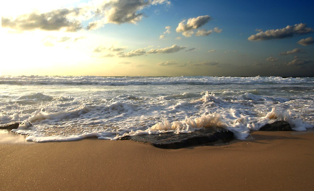 Sand water air by MichaelBr