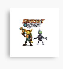 Ratchet and Clank Canvas Print