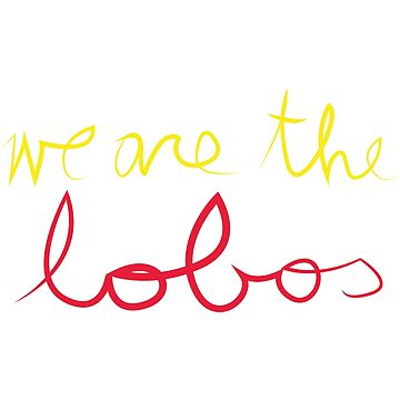 we are the lobos by chunked