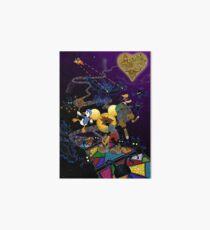 Deadly Dreaming - Kingdom Hearts Art Board