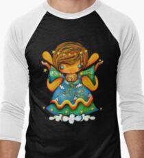 TShirt Watch Over Me Angel Men's Baseball ¾ T-Shirt