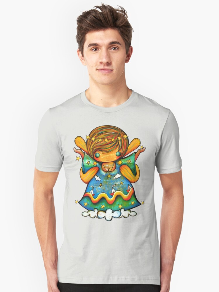 TShirt Watch Over Me Angel Unisex T-Shirt Front