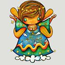 TShirt Watch Over Me Angel by Karin Taylor