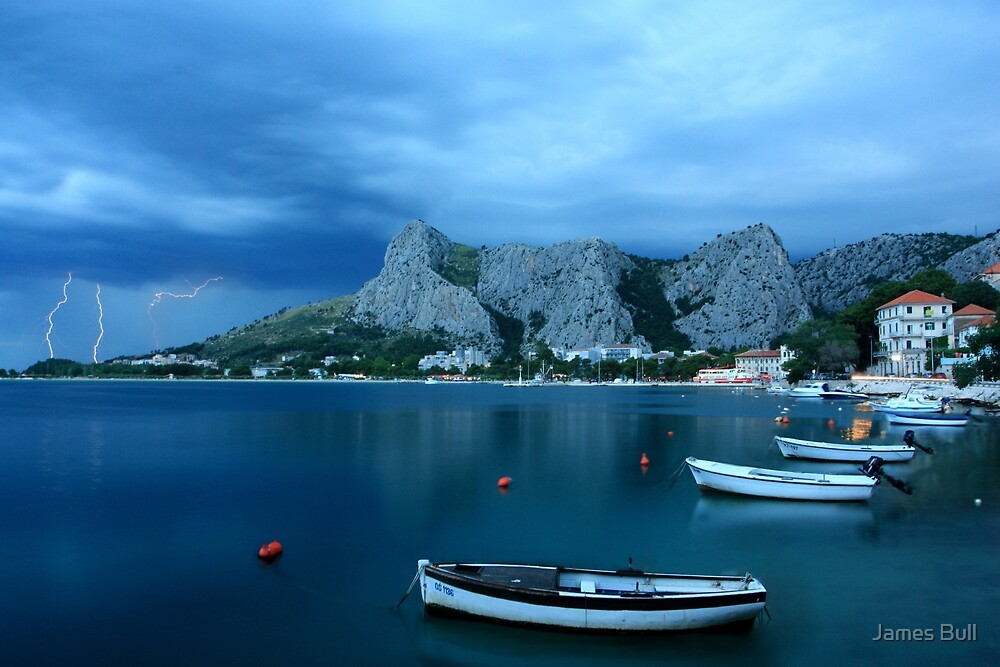 Storm over Dalmatia by James Bull