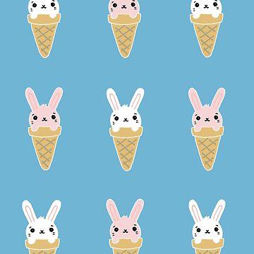 Bunny in a cone. by brogantickner