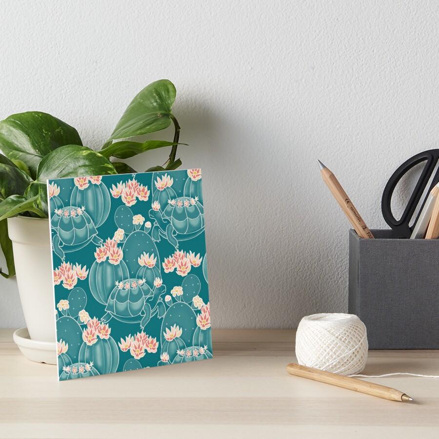Find a tortoise  Art Board Print