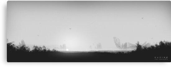 Gazing the Unknown - Digital Artwork von Lucas Dietrich