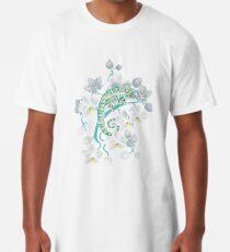 Chamäleons und Orchideen Longshirt