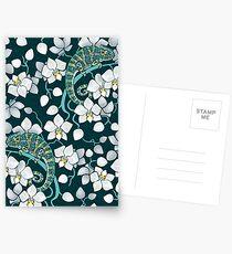 chameleons and orchids  Postcards