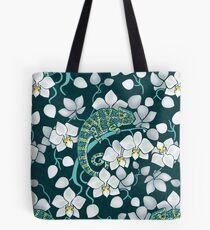 chameleons and orchids  Tote Bag