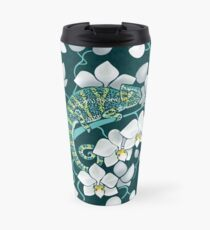 chameleons and orchids  Travel Mug
