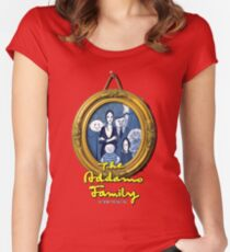 The Addams Family Musical Women's Fitted Scoop T-Shirt