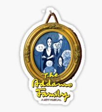 The Addams Family Musical Sticker